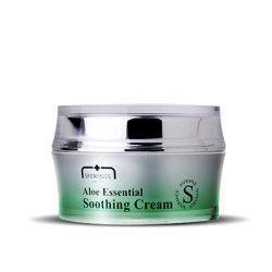 Успокаивающий крем с алоэ Aloe essential soothing cream